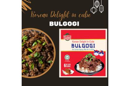 Korean Delight in Cube: Bulgogi