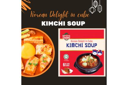 Korean Delight in Cube: Kimchi Soup