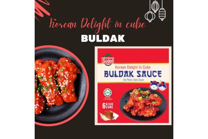 Korean Delight in Cube: Buldak Sauce