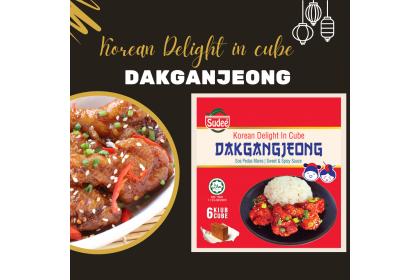 Korean Delight in Cube: Dakgangjeong